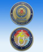 Medallion Coin with Colour 1